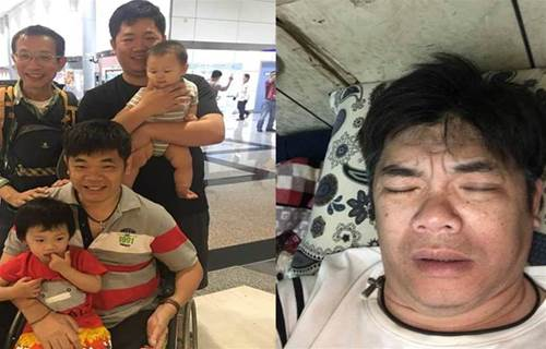 曾月入百萬,一場意外半身癱瘓,還被妻子拋棄留下年幼孩子「當時真的不想活了」,今為3子女「坐輪椅養雞重生」:感謝她的無情
